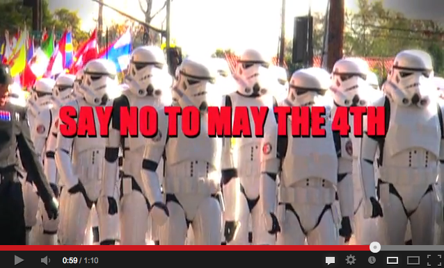 Say NO to May 4th