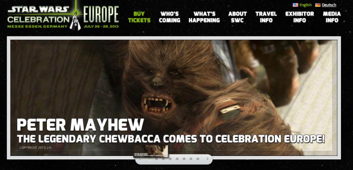 Chewbacca till CEII