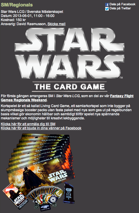 Star Wars Cardgame