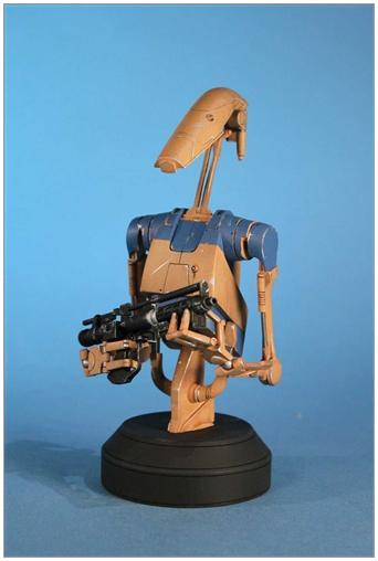 Battle Droid Pilot byst