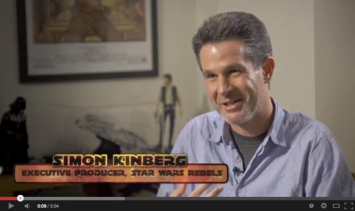 Simon Kinberg - Exekutiv Producent för Rebels