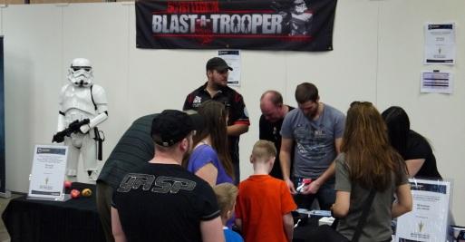 Blast a Trooper - Sci-Fi Mässan Göteborg 2014