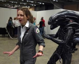 Cosplay Parad - Sci-Fi Mässan Göteborg 2014