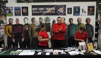 West Coast Trekkers - Sci-Fi Mässan Göteborg 2014