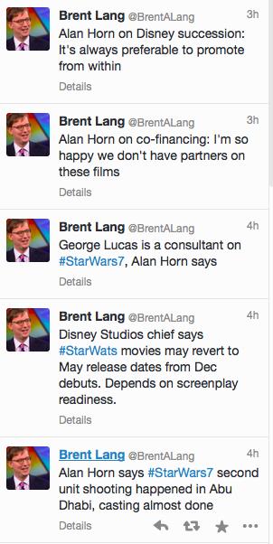 Lang Tweets Horn