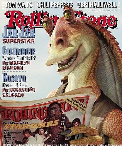 JarJar rolling stone