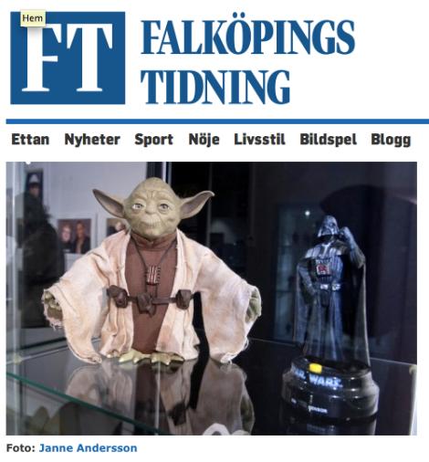 Star Wars utställning i Tidaholm öppnar på söndag