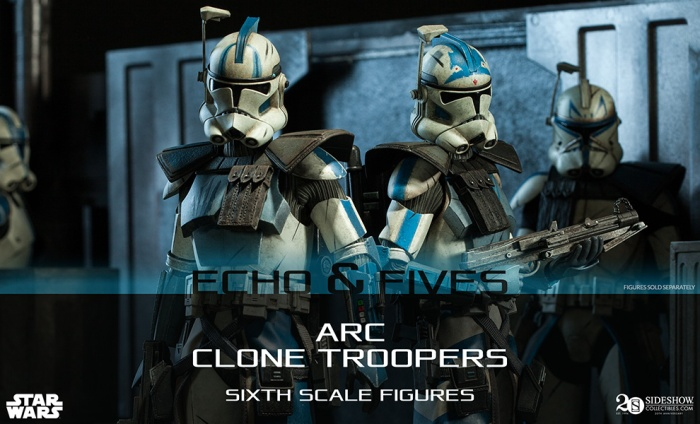 Echo och Fives - Sideshow Collectibles