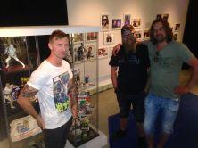 Tidaholms Museum - Star Wars samlare Rickard, Alexander och Stefan