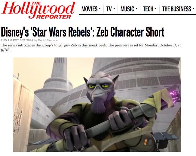 Rebels Klipp - Zeb