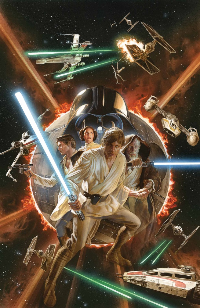 Star Wars #1 Alex Ross Variant
