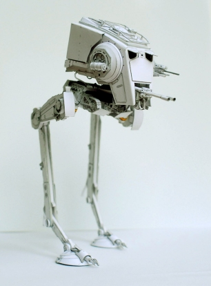 AT-ST Pappersmodell