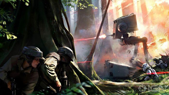 Battlefront Konceptbild