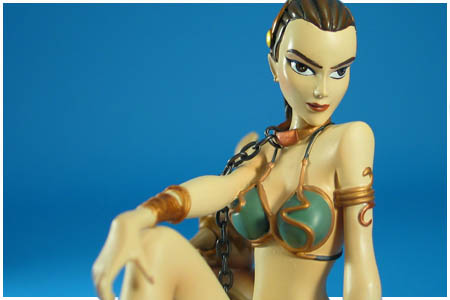 Slave Leia statyett från Gentle Gigant 2010