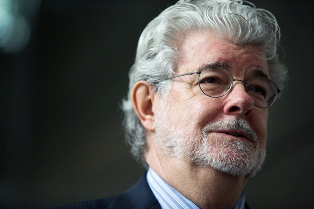 "Lucasfilm Ltd. Chief Executive Officer And Billionaire George Lucas Launches Production Facility ""The Sandcrawler"""